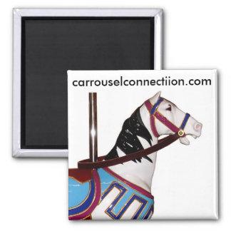 W.F. Mangels Carousel Horse Fridge Magnet