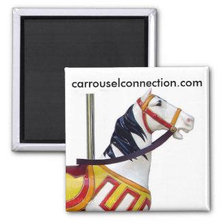 W.F. Mangels Kiddie Carousel Horse Refrigerator Magnets