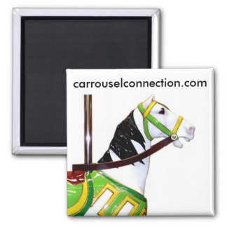 W.F. Mangels Kiddie Carousel Horse Magnet