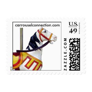 W.F.Mangel's Kiddie Carousel Horse Stamps