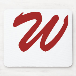 W For Winner Mouse Pad