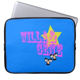 W&G FACES LAPTOP COMPUTER SLEEVE