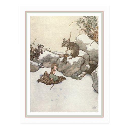 W. H. Robinson - Tommelise Postcard