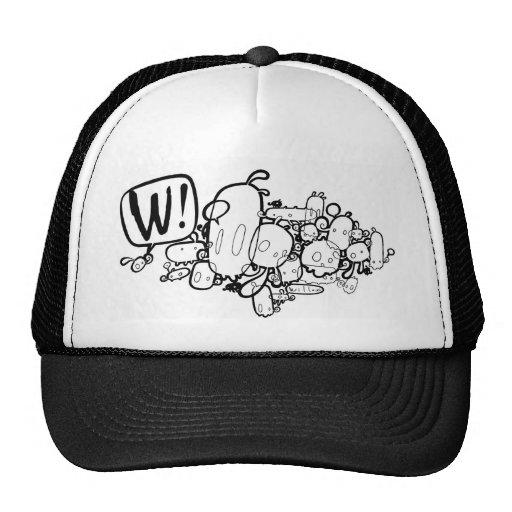 W ! MESH HAT