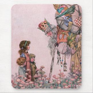 W Heath Robinson Illustration Bill the Minder Mouse Pad