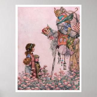 W Heath Robinson Illustration Bill the Minder Posters