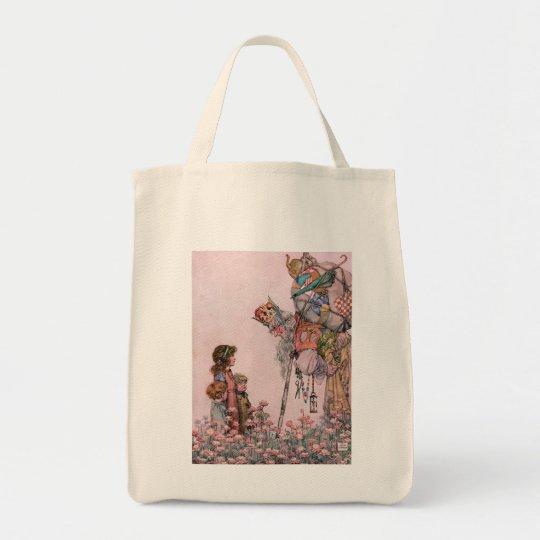 W Heath Robinson Illustration Bill the Minder Tote Bag