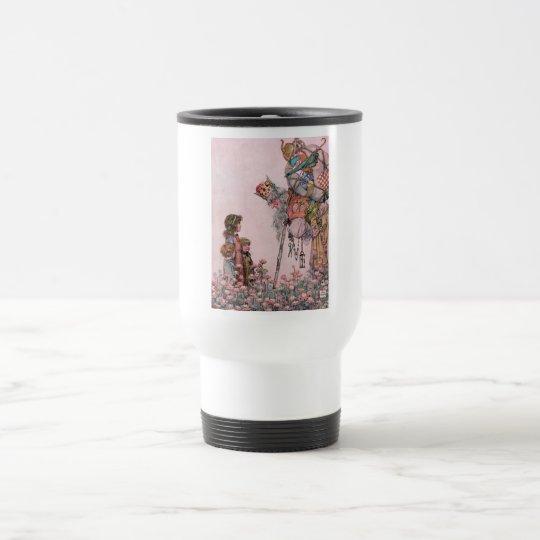 W Heath Robinson Illustration Bill the Minder Travel Mug