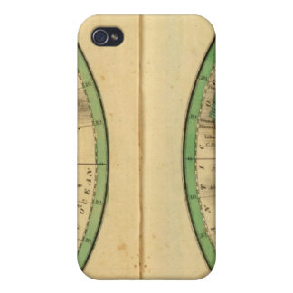 W Hemisphere, E Hemisphere iPhone 4/4S Case