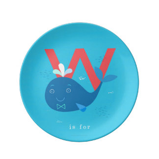 W is for... plate