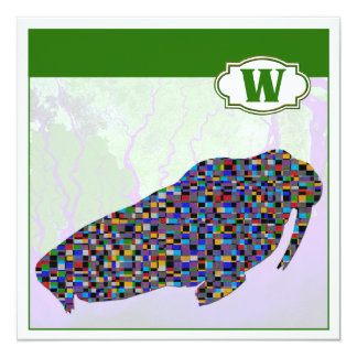 W is for Walrus Card
