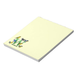W is for Warbler Notepad