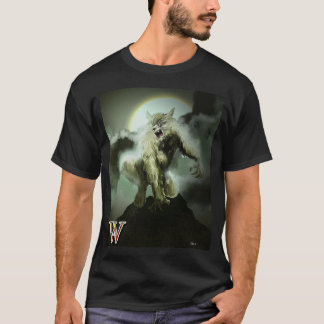 W is for Warewolf T-Shirt