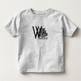 W is for Warthog Toddler T-shirt
