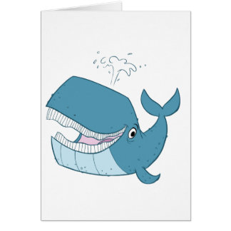 W is for Whale Card