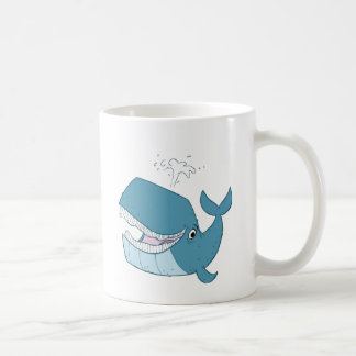 W is for Whale Classic White Coffee Mug