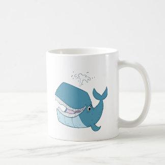 W is for Whale Coffee Mug