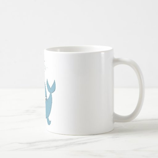 W is for Whale Mugs