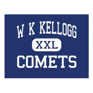 W K Kellogg - Comets - Junior - Battle Creek Postcard