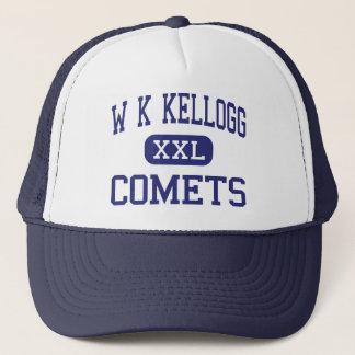 W K Kellogg - Comets - Junior - Battle Creek Trucker Hat