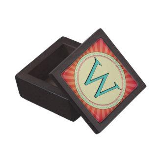 W MONOGRAM LETTER PREMIUM JEWELRY BOXES