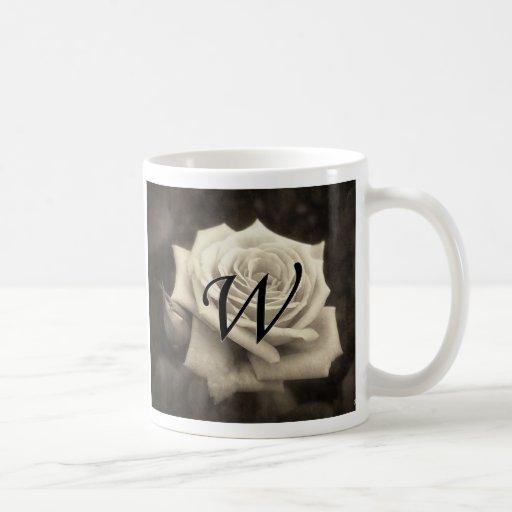 W Monogram Mug