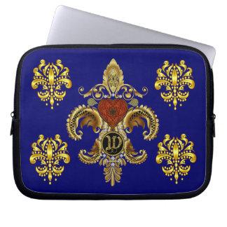 W Monogram Premium Best viewed large. see notes Laptop Sleeve
