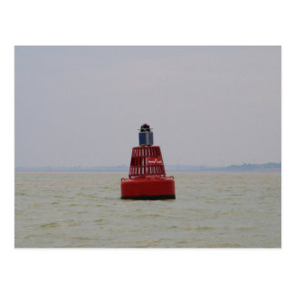 W Nore Sand Buoy Postcard