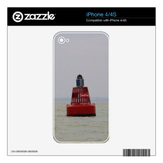 W Nore Sand Buoy iPhone 4 Skins