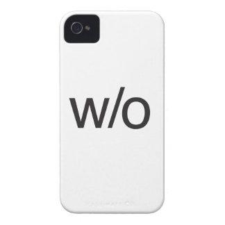 w/o.ai iPhone 4 covers