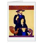 W.P.A. Pennsylvania Travel Poster Vintage Greeting Card