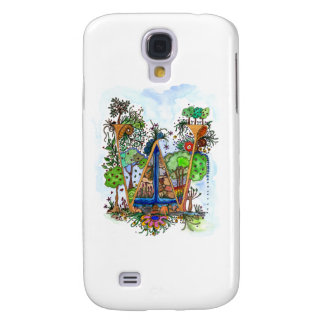 W painted samsung galaxy s4 covers