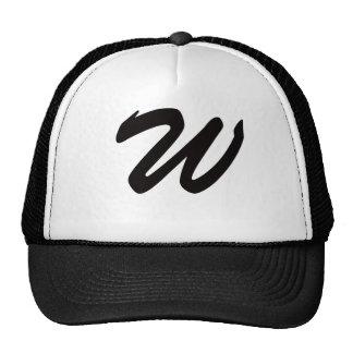W para el ganador gorras de camionero