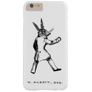 W. Rabbit Esq. Case Barely There iPhone 6 Plus Case