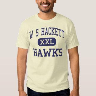 W S Hackett Hawks Middle Albany New York T Shirts
