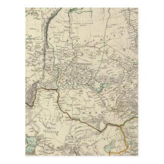 W Siberia, Tartary, Khiva, Bokhara &c Postcard