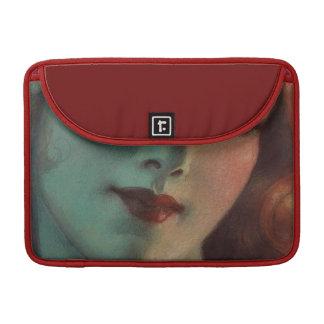 W.T. Benda Art Deco Girl MacBook Pro Sleeve