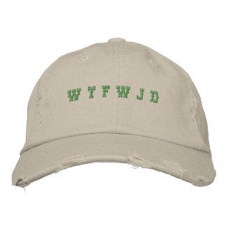 W T F W J D BASEBALL CAP