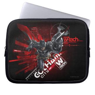 W-Tech Red Batman Graphic Laptop Computer Sleeve