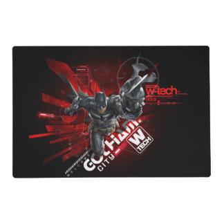 W-Tech Red Batman Graphic Placemat