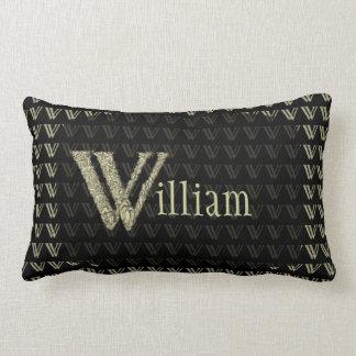 W - The Falck Alphabet (Golden) Pillow