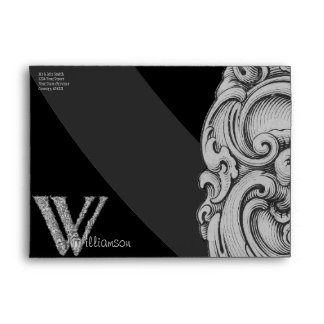 W - The Falck Alphabet (Silvery) Envelope