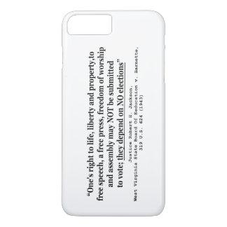W Virginia Board Of Ed. v Barnett 319 US 624 1943 iPhone 7 Plus Case