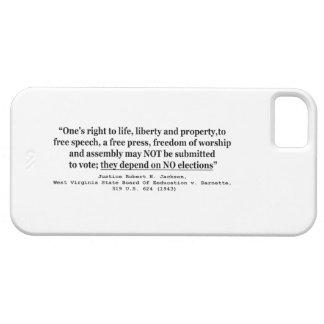 W Virginia Board Of Ed. v Barnett 319 US 624 1943 iPhone SE/5/5s Case