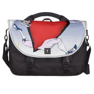 w virginia head heart, tony fernandes laptop messenger bag