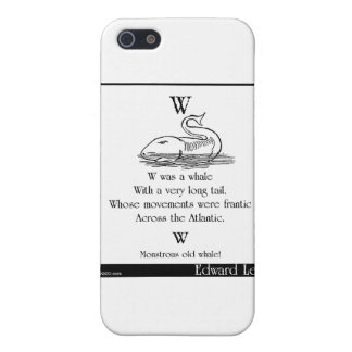 W was a whale iPhone SE/5/5s case