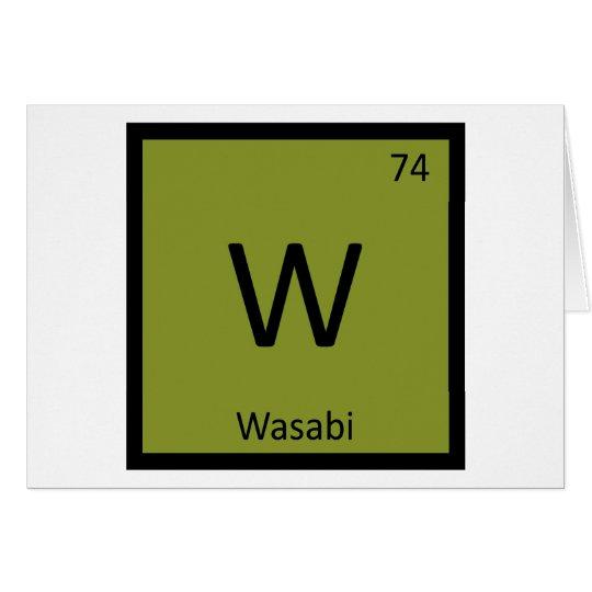 W wasabi chemistry periodic table symbol zazzle w wasabi chemistry periodic table symbol urtaz Images