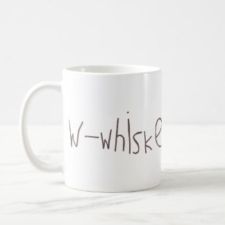 W - whiskey NATO Mugs