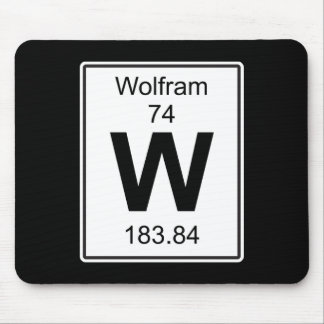 W - Wolfram Mouse Pad