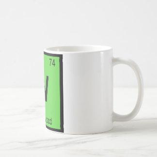 W - Wormwood Chemistry Periodic Table Symbol Classic White Coffee Mug